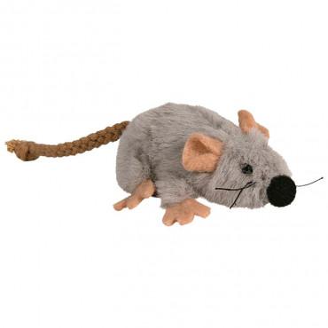 Rato em Peluche c/ Catnip p/ Gato ⵘ