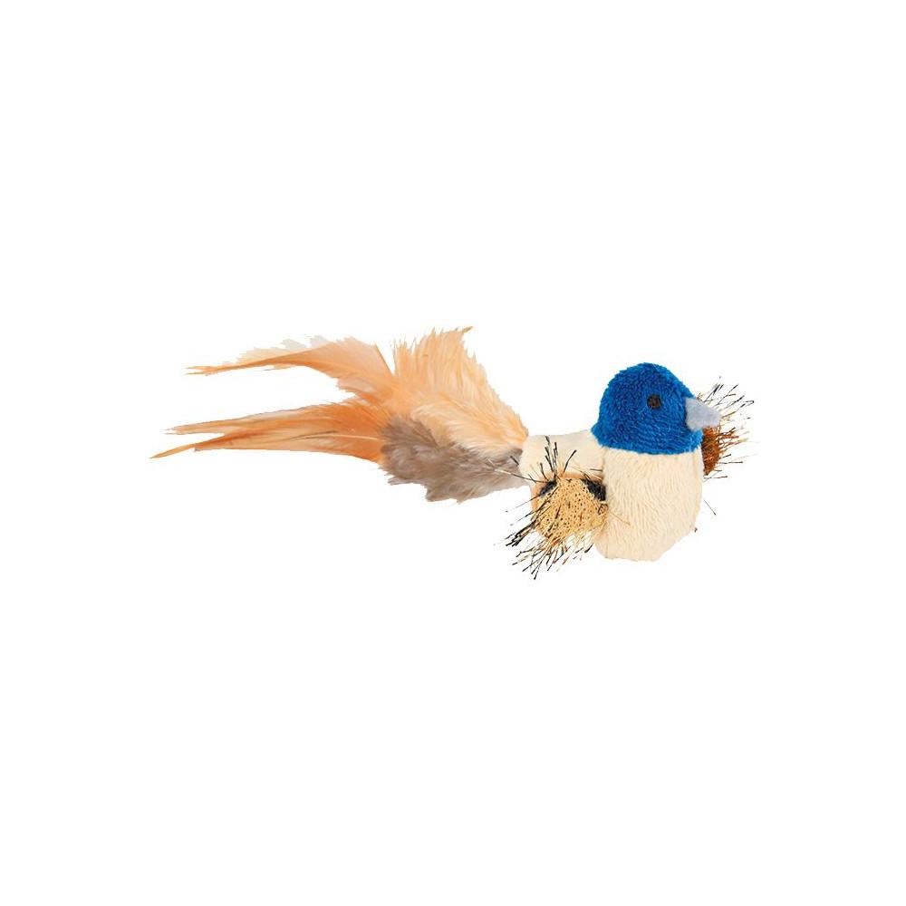 Pássaro em Peluche c/ Penas
