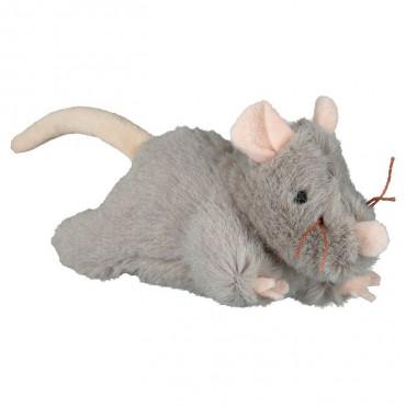 Rato em Peluche c/ Som p/ Gatos