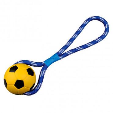 Bola de Futebol c/ Corda e Pega