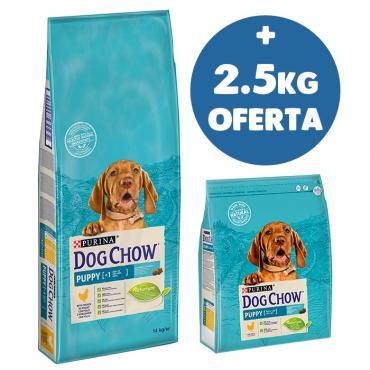 DOG CHOW - Puppy Frango 14Kg + 2.5Kg OFERTA