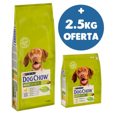 DOG CHOW - Adulto Frango 14Kg + 2.5Kg OFERTA