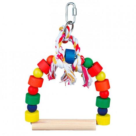 Baloiço em Arco c/ Blocos e Bolas Coloridas