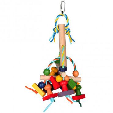 Brinquedo Colorido em Madeira