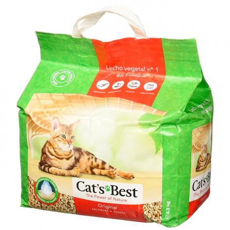 Cat Litter - Pinho Cat's Bests ORIGINAL Aglomerante 10L/4.3KG
