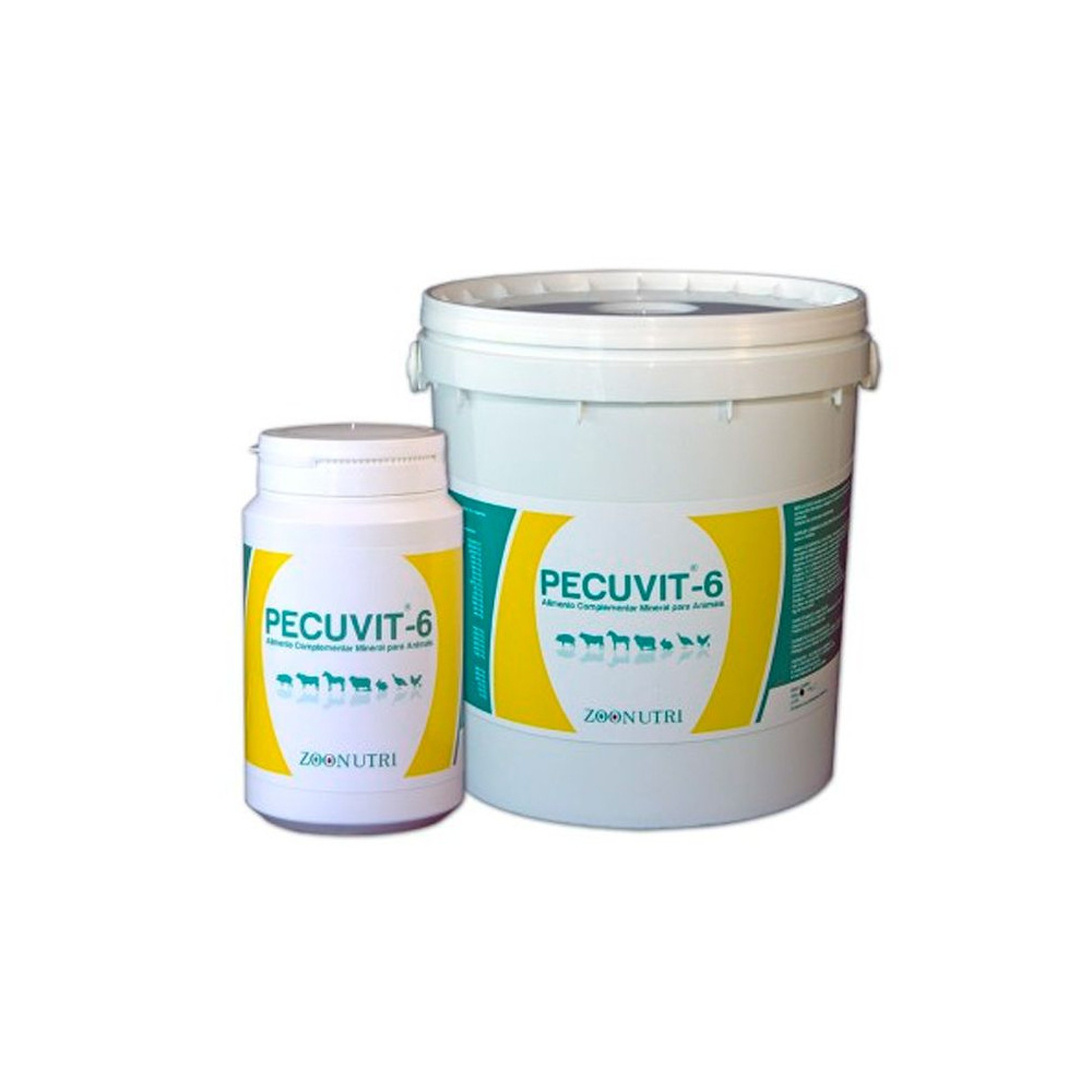 Alimento Complementar Mineral p/ Animais 'Pecuvit-6'