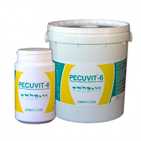 Alimento Complementar Mineral p/ Animais 'Pecuvit-6' 100gr