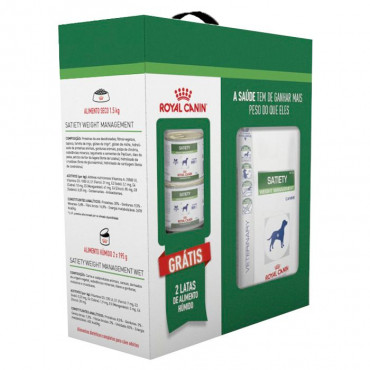 Royal Canin Dog - PROMO Pack Satiety Weight Management