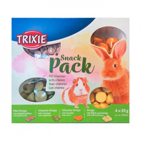 Snack Pack para Roedores