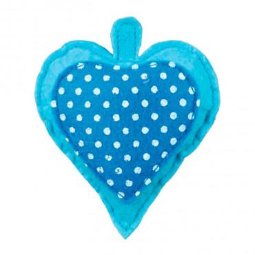 Coração em Tecido com Recheio de Valeriana