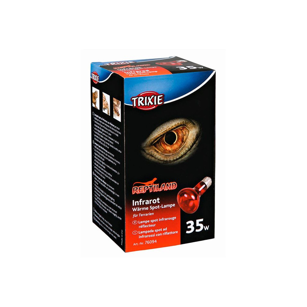 REPTILAND Infrared Heat Spot-Lamp, Red