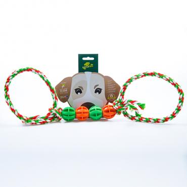 BAXTERTOYS - Brinquedo 4 bolas e 2 laços