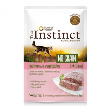 True Instinct NO GRAIN CAT - Adult Salmon Paté