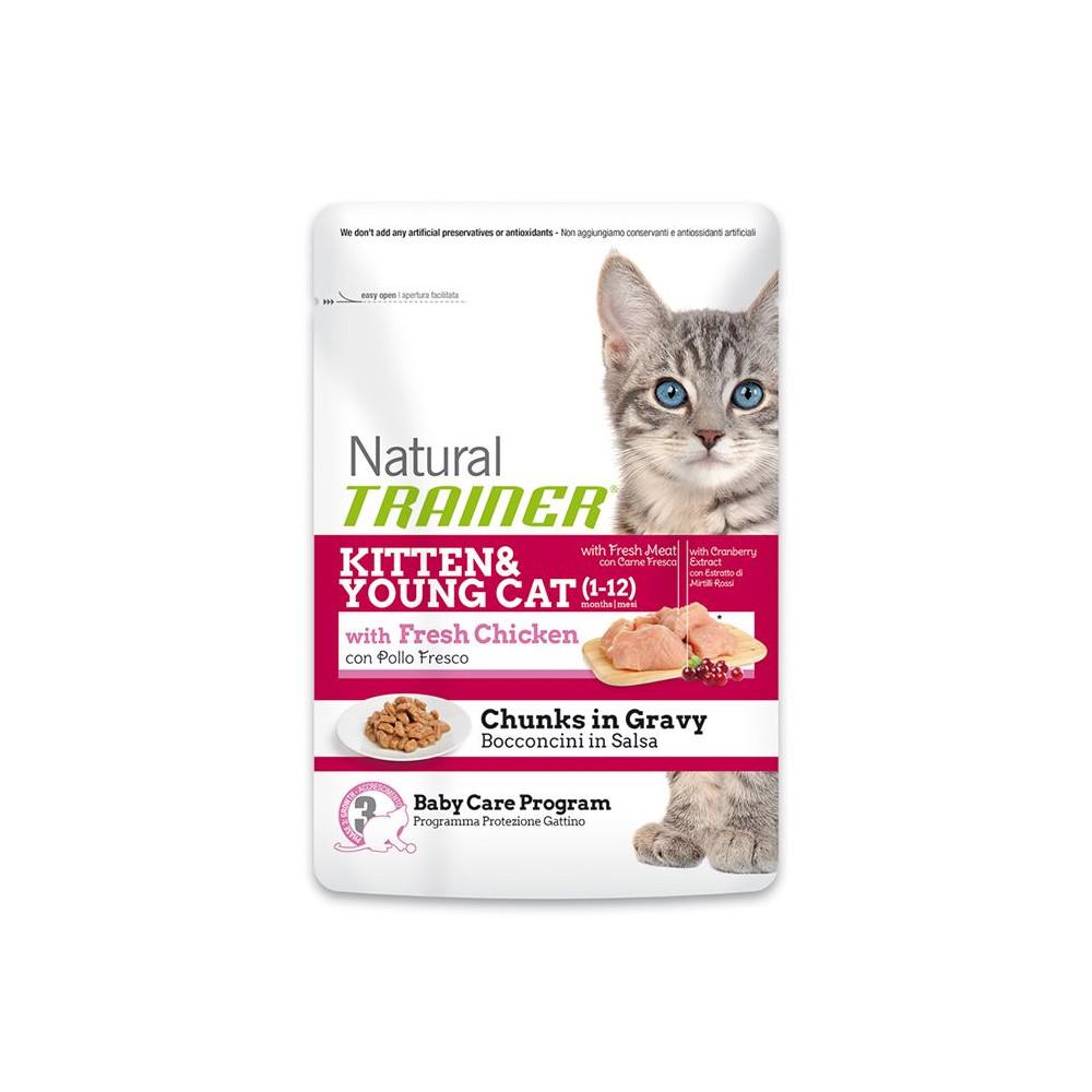 TRAINER WET CAT - Kitten Chicken (1-12 Months)