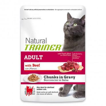 TRAINER WET CAT Adult Beef