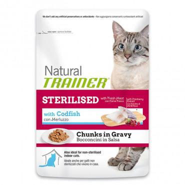 TRAINER WET CAT - Sterelized Codfish