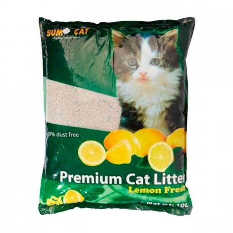 Sumo Areia para gato Limão