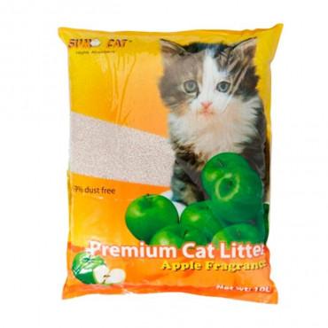 Sumo Areia para gato Maçã