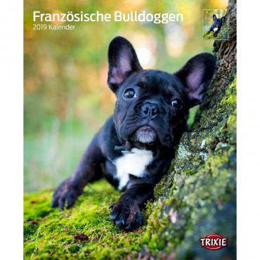 "Calendário ""French Bulldogs"""
