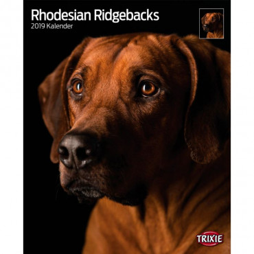 "Calendário ""Rhodesian Ridgebacks"""