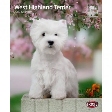 """Calendário """"West Highland Terriers"""""""