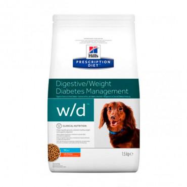 w/d Canine Mini - DiabetesMellitus/Excesso de Peso 1.5kg