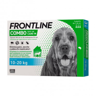 Frontline Combo 10kg a 20kg