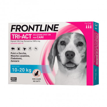 Frontline Tri-Act Cão 10kg a 20kg