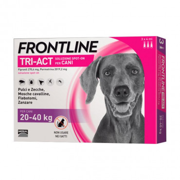 Frontline Tri-Act Cão 20kg a 40kg