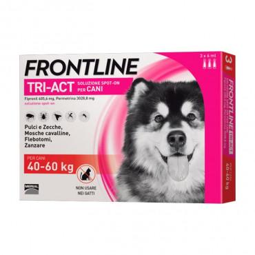 Frontline Tri-Act Cão 40kg a 60kg
