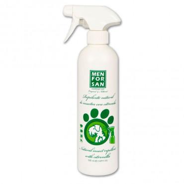 Repelente Natural de Insectos Citronela e Geranio p/ cães 250ml