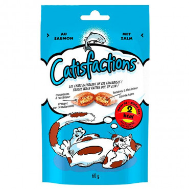 CATISFACTION - Snack Salmão 60gr