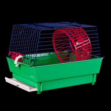 Gaiola Hamster Mini Plastificada