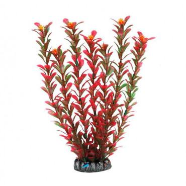 Planta Plástica 30Cm - Verde/Laranja