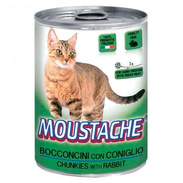 Moustache Gato - Carne de Coelho 415gr