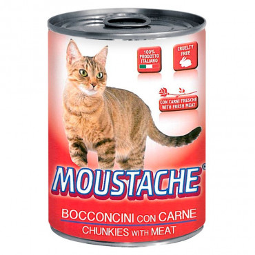 Moustache Gato - Carne de Vaca 415gr