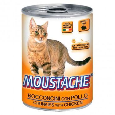 Moustache Gato - Carne de Frango 415gr