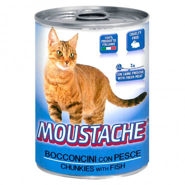 Moustache Gato - Peixe 415gr