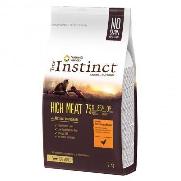 True Instinct High Meat Gato Adulto Chicken 7Kg