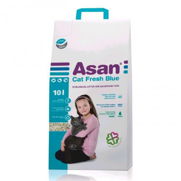 Asan Litter Papel Absorvente Eliminador de Odores para gato
