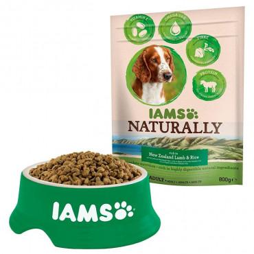IAMS Dog Naturally - Adult Lamb 800gr