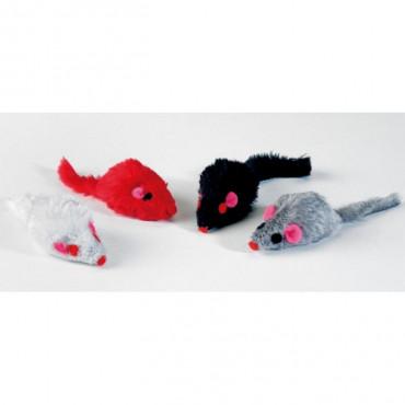 Jogo Peluche Ratos 5cm (Pack 4)