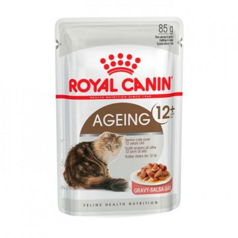 Ração para gato Royal Canin Wet Ageing 12+ Gravy