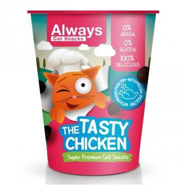 Always Cat Snacks Tasty Chicken