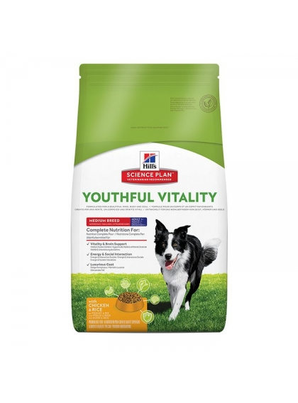 Hill's Adulto +7 Youthful Vitality Medium