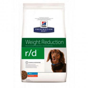 Hill's r/d Weight Reduction Cão mini - Excesso de peso/diabetes Mellitus