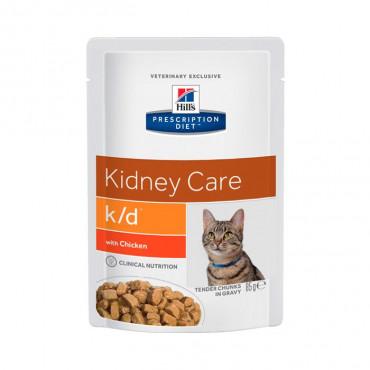 k/d Feline - Doença Renal/Problemas Cardíacos Frango 85gr