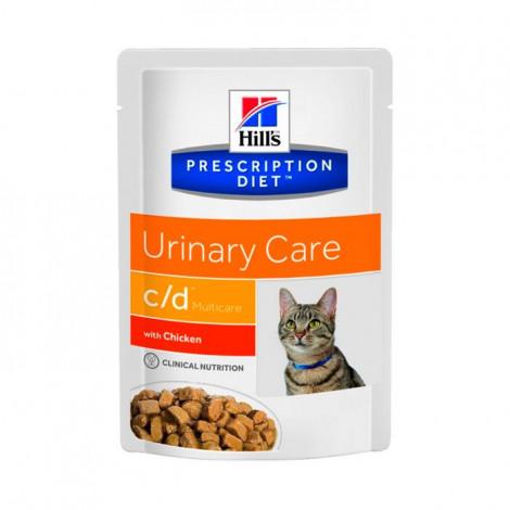 c/d Feline - Cuidados Urinários Frango 85gr