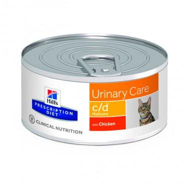 Hill's c/d Feline - Cuidados Urinários Frango 156gr