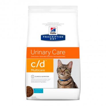 c/d Feline - Cuidados Urinários Peixe do Oceano